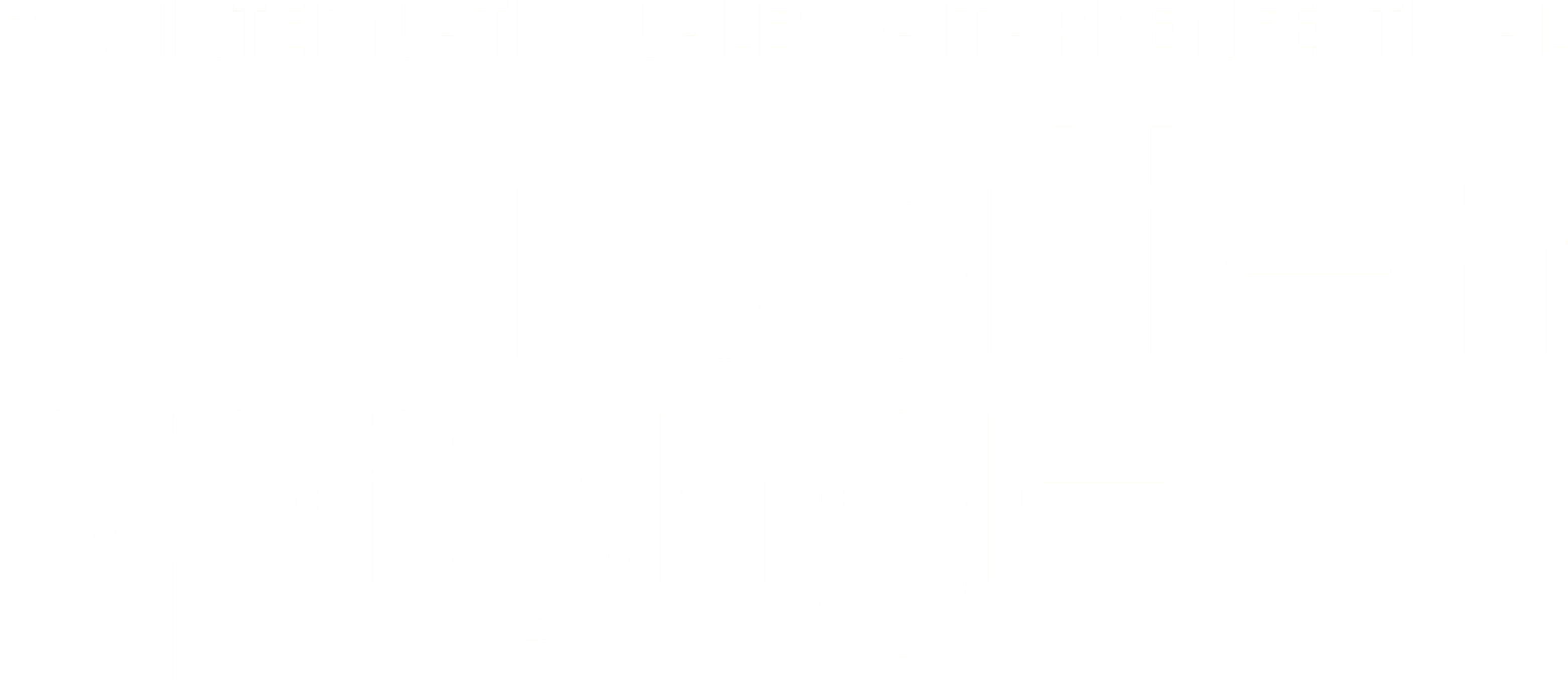 Saitensprünge - Das Gitarrenfestival in Bad-Aibling